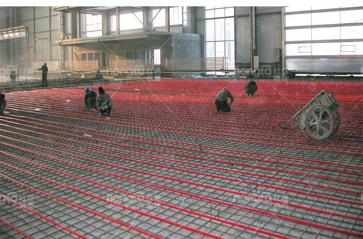 红塔地暖-A320飞机中国总装厂房