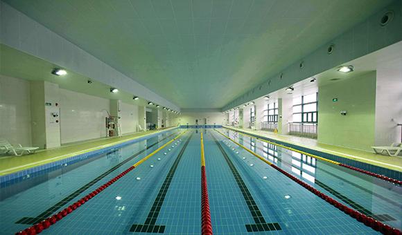 红塔地暖:望远楼游泳馆地暖项目