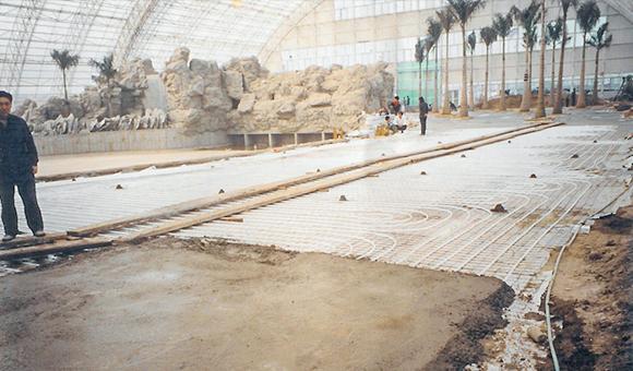 红塔地暖:北京林业大学温室大棚