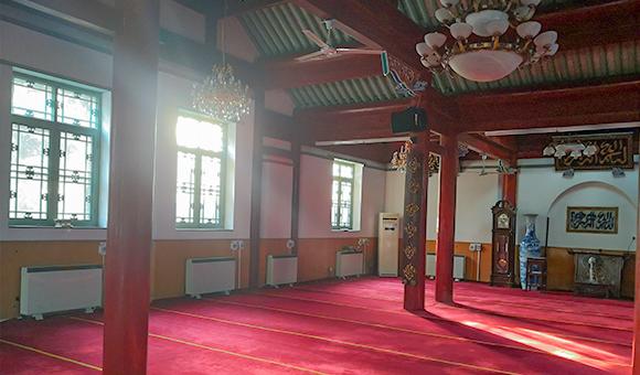 红塔煤改电:北京清真寺大堂
